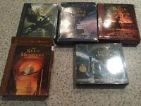 Percy Jackson books on cd