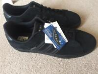 Adidas Black Suede Trainers BRAND NEW