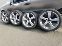 "18"" Alloy wheels 5x108 Volvo"