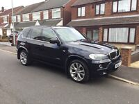 """BMW X5 3.0 D X Drive (60) plate """"pan roof, reverse cams"""""""