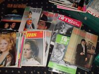 Large collection of 1960s/70s/80s film magazines - Films
