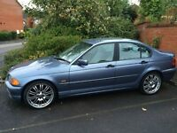 "BMW 318 E46 Saloon SE Year 1999 - 19"" Alloys 235/35 ZR – Broken engine – Very good condition for age"