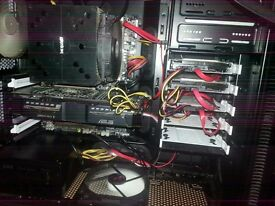 Extreme Silent Gaming Computer, 8 core CPU, 16gb Ram, 3gb GFX, 240GB SSD, BenQ Monitor **BARGAIN**
