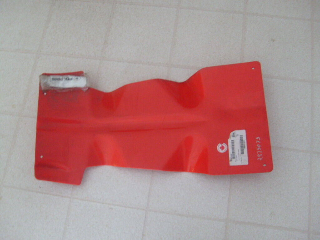 Polaris fusion red skid plate new 2875075 293