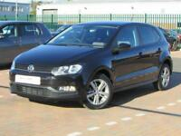 Volkswagen Polo MATCH EDITION TSI (black) 2017-09-30