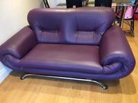 Sofa purple