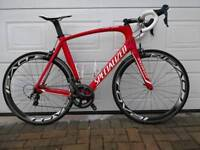 Specialized Venge Expert Ultegra Carbon Road Bike 61cm XL XXL Roval Sl45