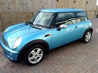2004 Mini 1.6 . 2 previous lady owners, comprehensive service records, long Mot, PX bargain to clear