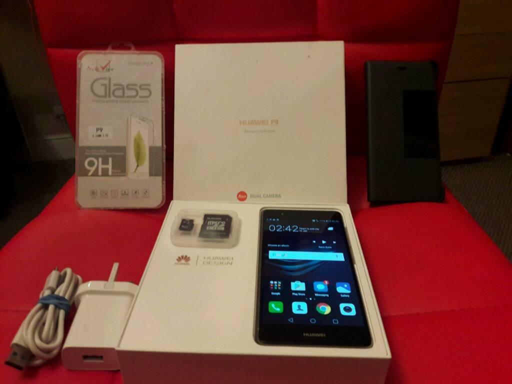 Huawei P9 (EVA-L09) 32GB UNLOCKED + EXTRAS!!