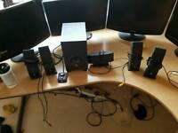 Logitech x540 surround sound pc speakers