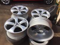 "22"" alloy wheels et42 5/120/9.5j fit VW BMW Mercedes Porsche etc"