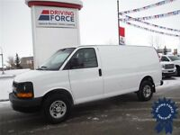 2013 Chevrolet Express 2500 Cargo Van - Rear Heater - 41,287KM