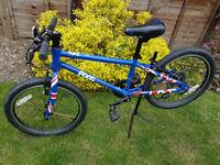 Frog 55 Hybrid Bike - Union Jack Edition, Excellent condition