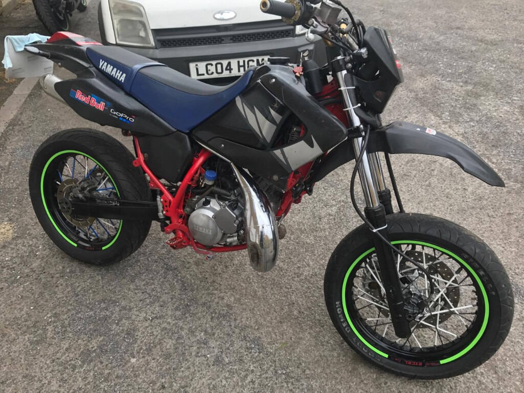 yamaha dt 125 x 2006 supermoto in washington tyne and wear gumtree. Black Bedroom Furniture Sets. Home Design Ideas