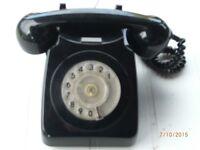 PHONE (RETRO) IN BLACK