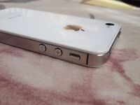 iphone 4s, 8gb, white, unlocked, very good working, good cosmetic,
