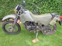 CAGIVA 350 W12 French Military Army similar to Harley MT350 Exchange large scooter ?