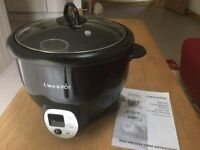 Crock Pot Rice Cooker with Sauté function.