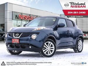 2012 Nissan Juke SL LOCAL TRADE WITH LOW MILEAGE