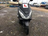 Honda pcx 125cc Matt grey stunning 2015 low mileage not vespa ps hpi clear!!
