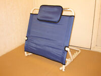 Aidapt Adjustable Angle Bed Back Rest with Integral Head Cushion