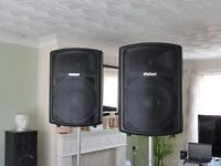 Pair ProSound Speakers 800 watts