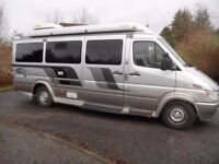 2005 American Dodge Mercedes Sprinter Elk Automotive Conversion 14300 miles.