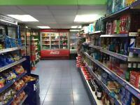 Off licence shop with a flat lease for sale £5000