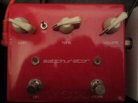 VOX Satchurator distortion guitar pedal £30 ono