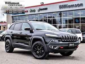 2015 Jeep Cherokee TRAILHAWK**LEATHER**TRAILER GRP