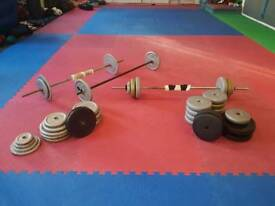 Approx 200kg weights