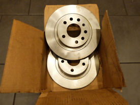 Vauxhall Astra / Zafira rear brake discs - Mintex MDC2037 - Unused