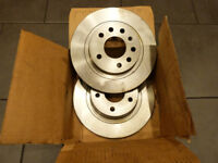 Vauxhall Astra / Zafira rear brake discs - Mintex MDC2037 - Unused