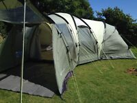 Hartford L 6 person dome tent excellent condition with footprint and carpet