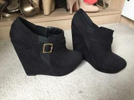 Suede new looks boots