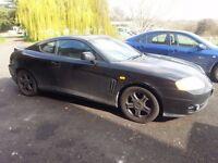 Hyundai Coupe SE 2.0 black - Failed MOT, less than 68,000 miles 2004 reg. Quick Sale!