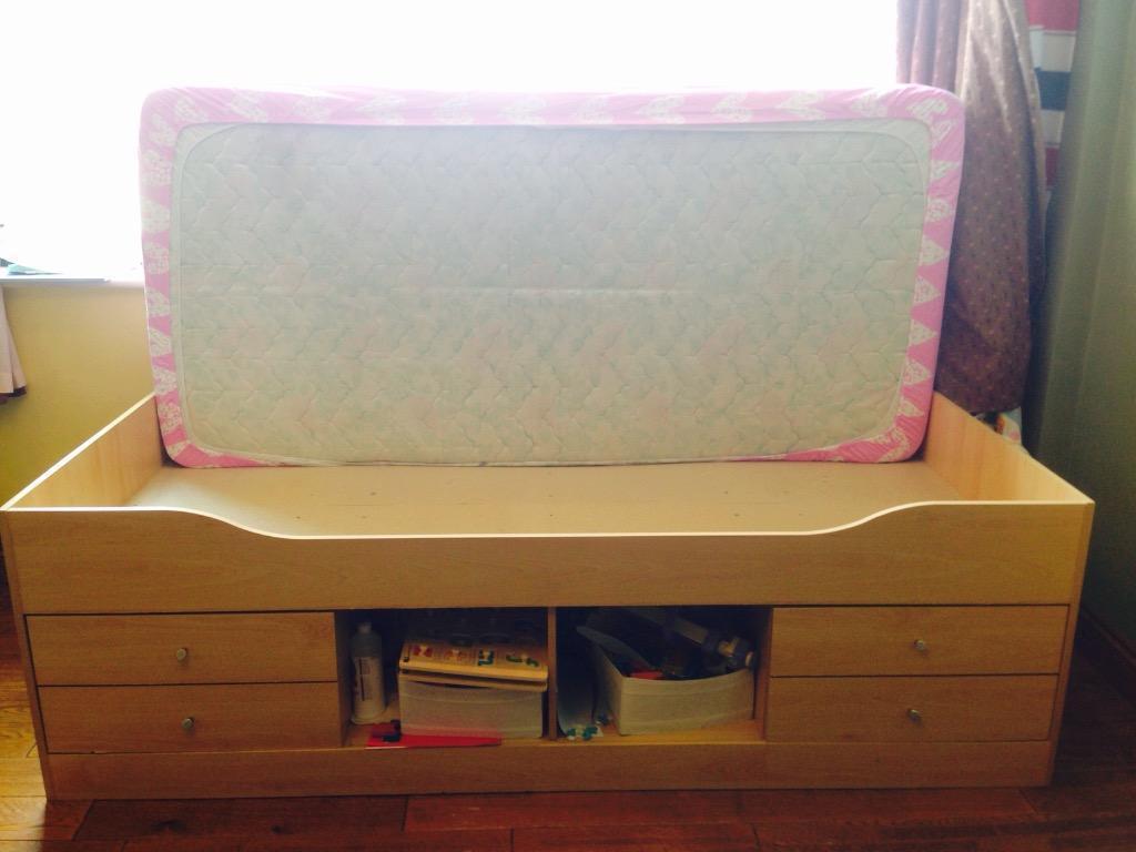 Ikea Malibu Cabin Bed Without Mattress In Harrow London