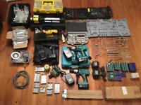 Tools/handles/fittings/drills/socket set/dewalt/Bundle