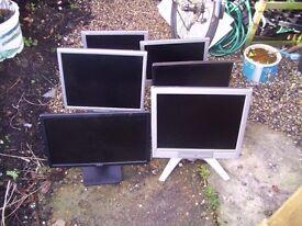 Pc monitors job lot
