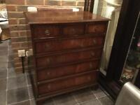 Reproduction chest of drawers