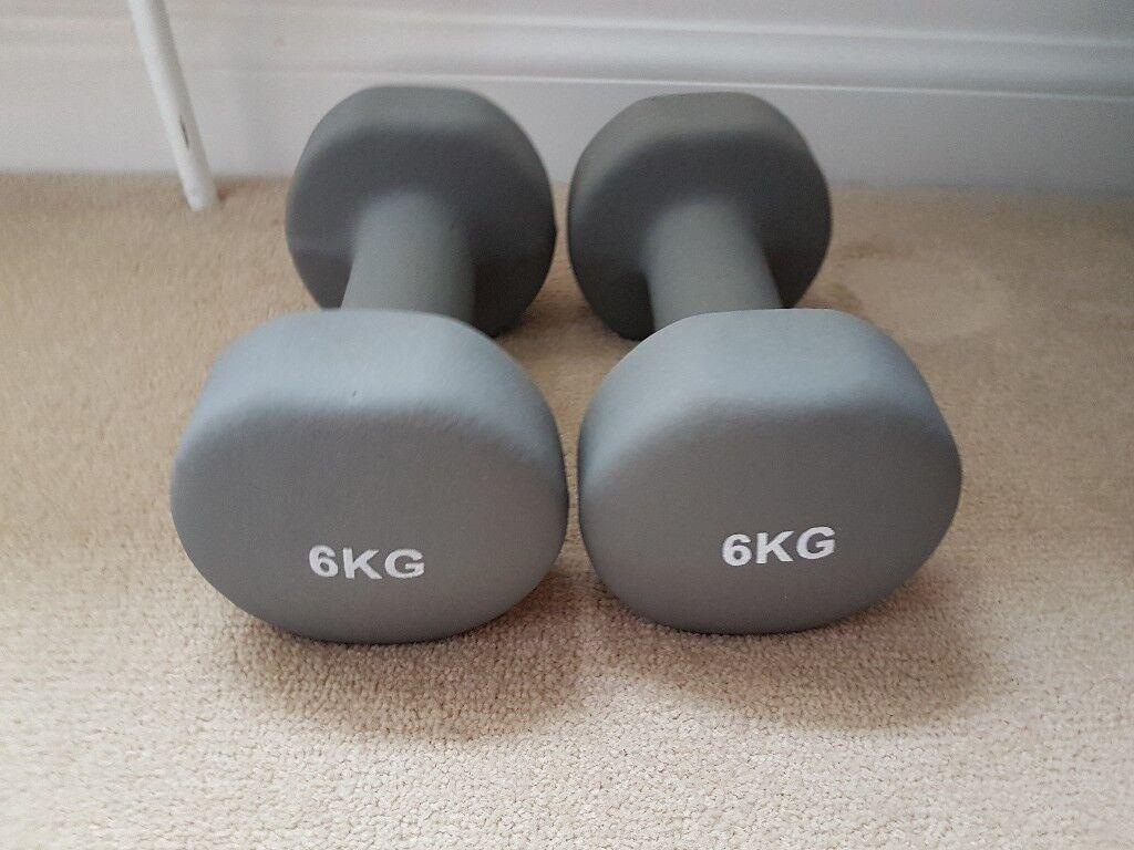 6kg dumbbells