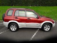 2005 Suzuki Grand Vitara, 11 months MOT, serviced, new tyres and good condition