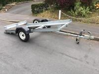 Golf buggy trailer/ tilt bed trailer/ motorhome trailer