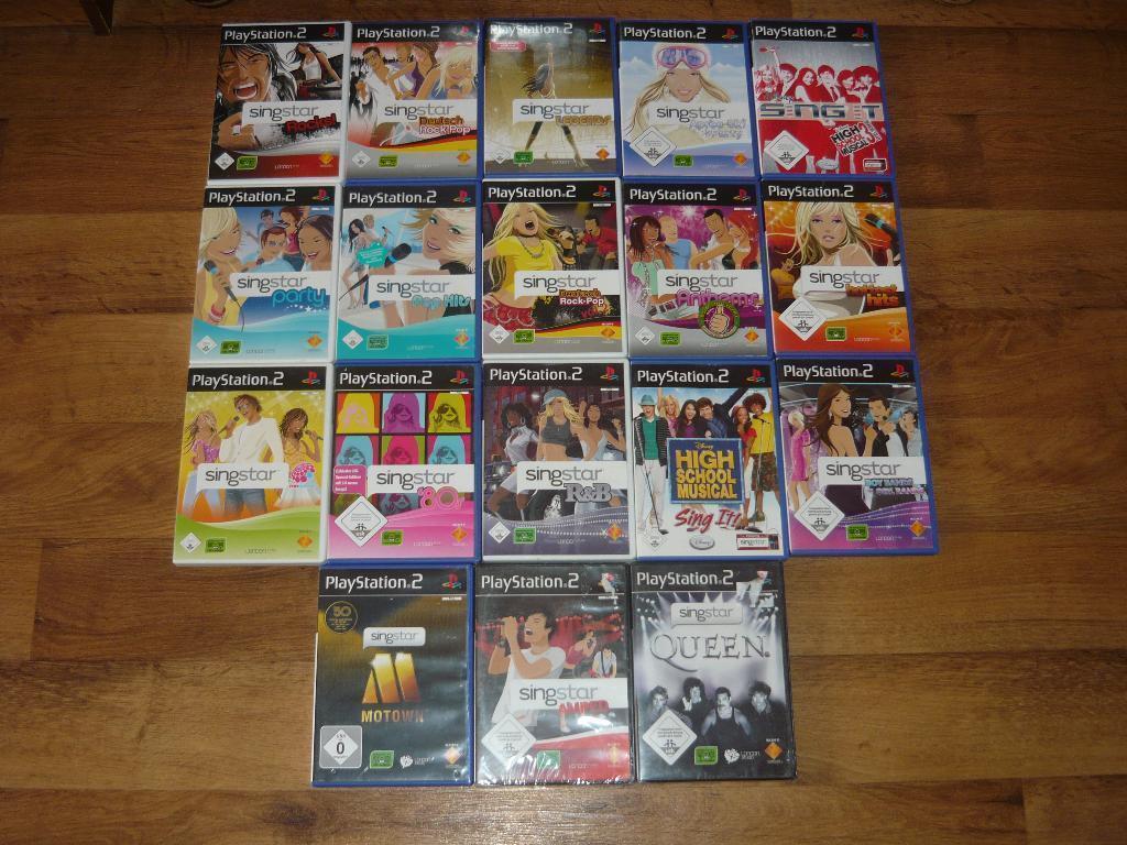Playstation Singstar Spiele Sammlung für PS2 & PS3  in OVP  EIN SPIEL IHRER WAHL