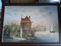 Baillie oil painting