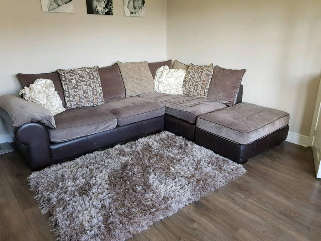 Barker & stonehouse corner suite/sofa