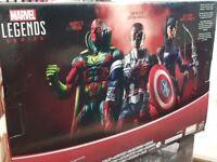 Marvel ledgends avengers figure set