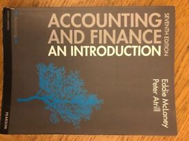 Accounting and Finance, an Introduction