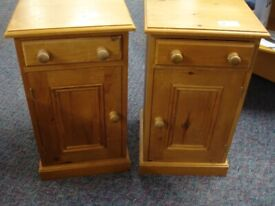 2 Bedside Cabinets (#43084 & #43085) £25 Each