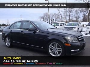 2014 Mercedes-Benz C-Class C300 4MATIC / SUN-ROOF / LEATHER